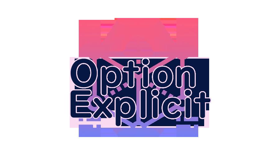Option Explicitの読み方