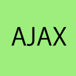 Ajaxの読み方