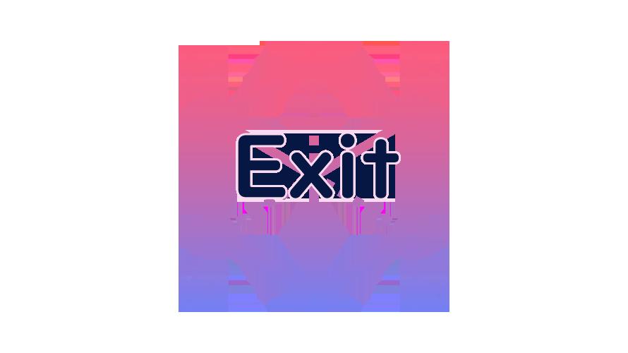 Exitの読み方