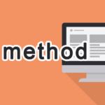 methodの読み方