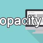 opacityの読み方