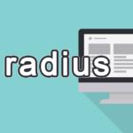 radiusの読み方