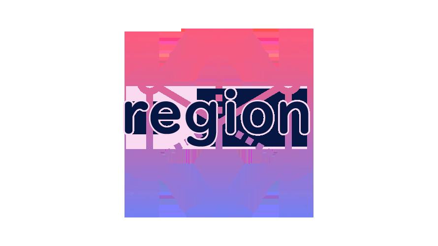 regionの読み方