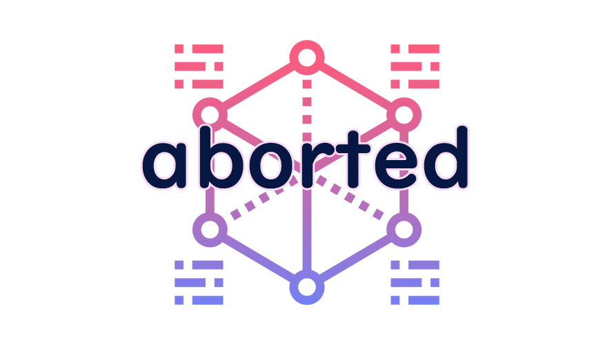 abortedの読み方