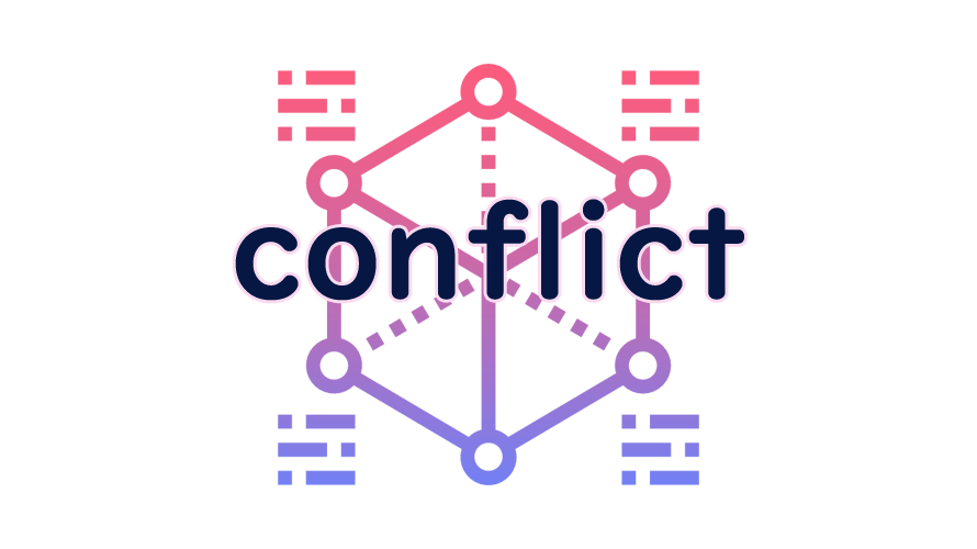 conflictの読み方