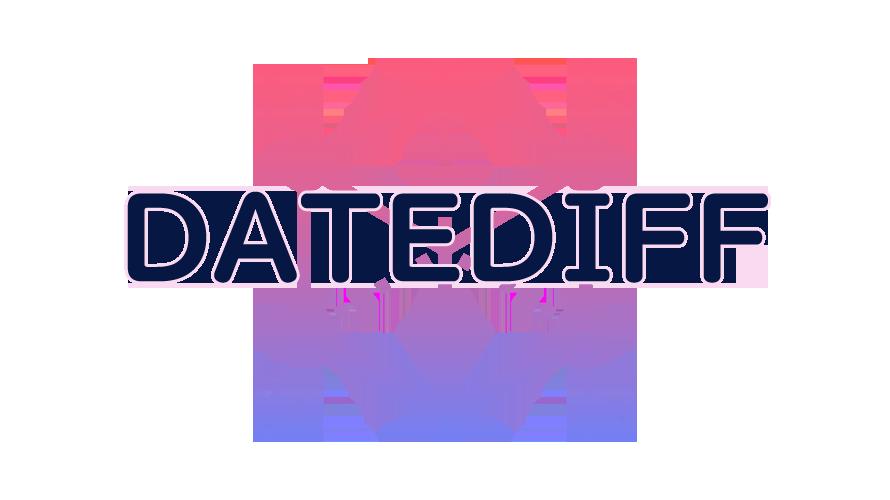 DATEDIFFの読み方