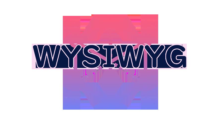WYSIWYGの読み方
