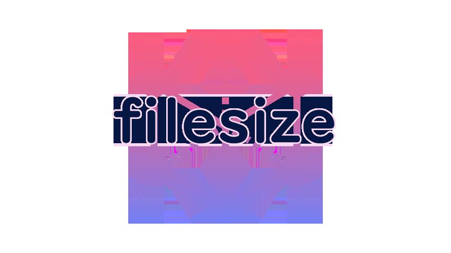 filesizeの読み方