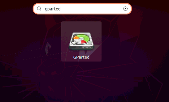 GPartedの読み方