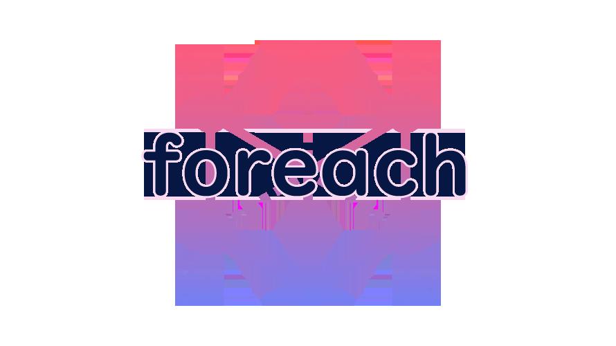 foreachの読み方