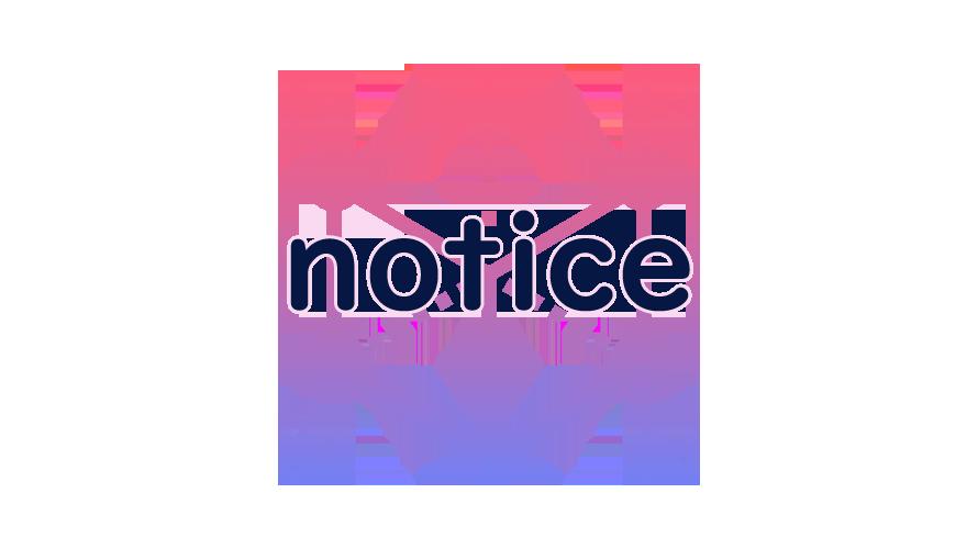 noticeの読み方