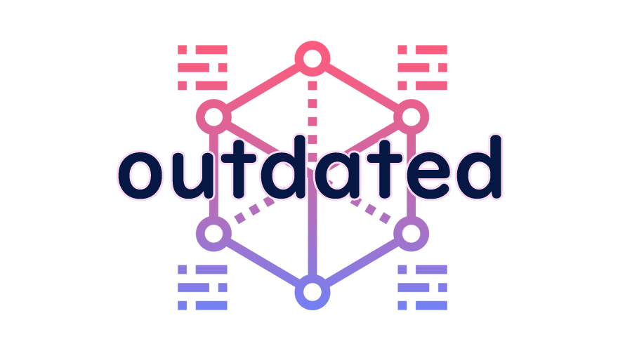 outdatedの読み方