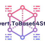 Convert.ToBase64Stringの読み方
