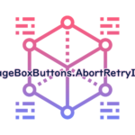 MessageBoxButtons.AbortRetryIgnoreの読み方