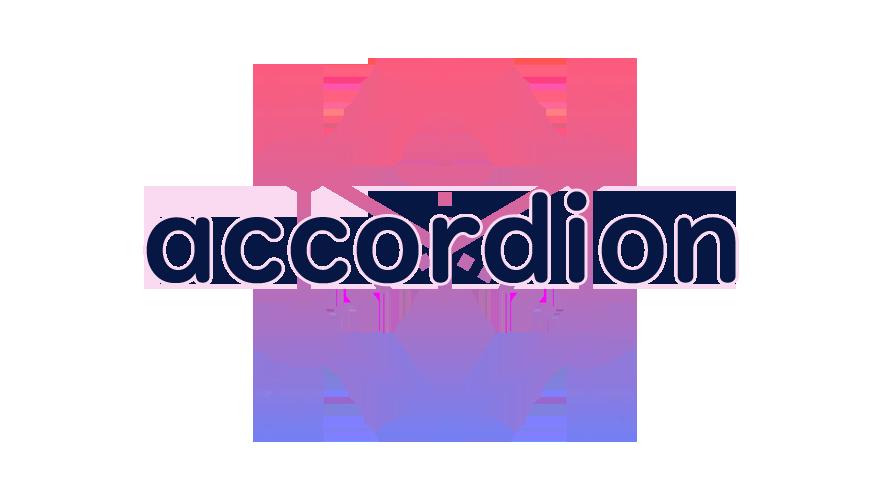 accordionの読み方