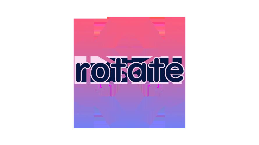 rotateの読み方