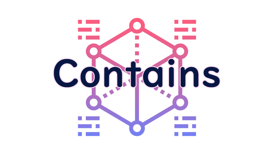 Containsの読み方