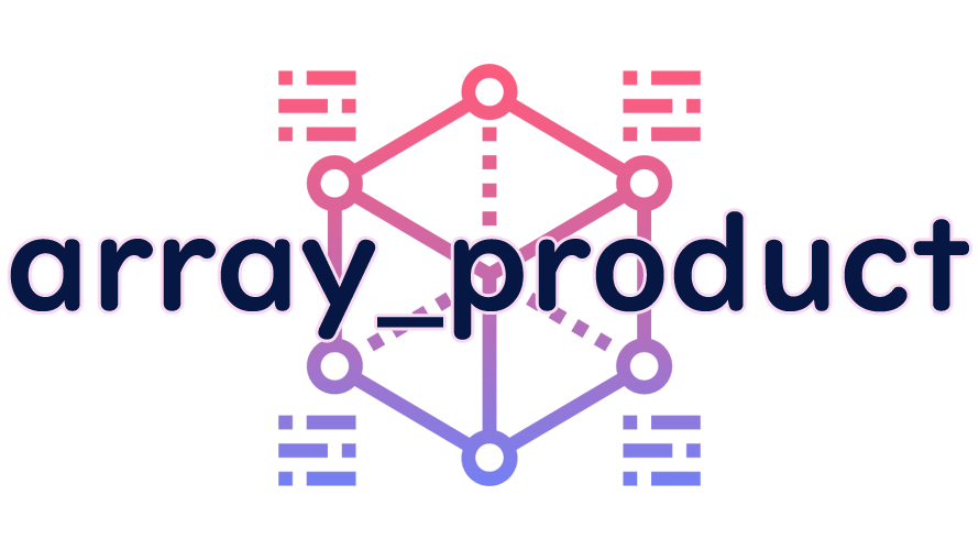 array_productの読み方